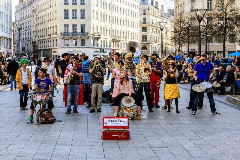 Teatro della via, Lione, Francia fotografia stock libera da diritti