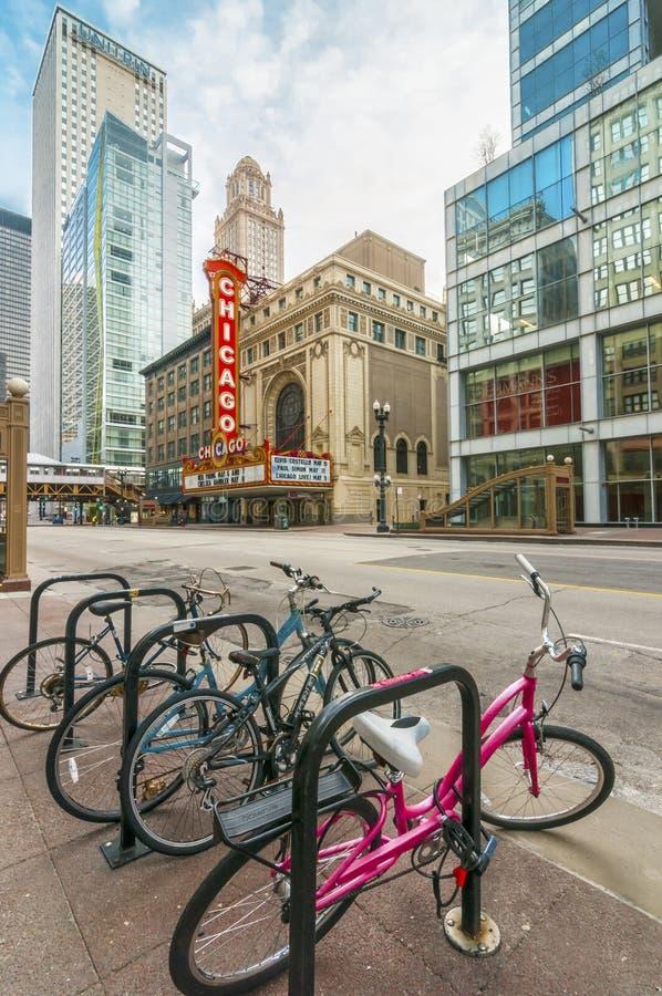 Teatro di Chicago immagine stock