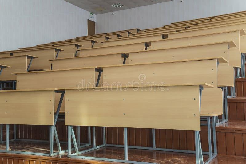 Teatro di conferenza nell'università fotografia stock