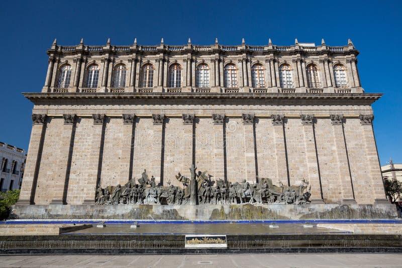Teatro di Degollado, Guadalajara, Messico immagini stock