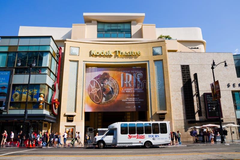 Teatro di Kodak fotografia stock libera da diritti