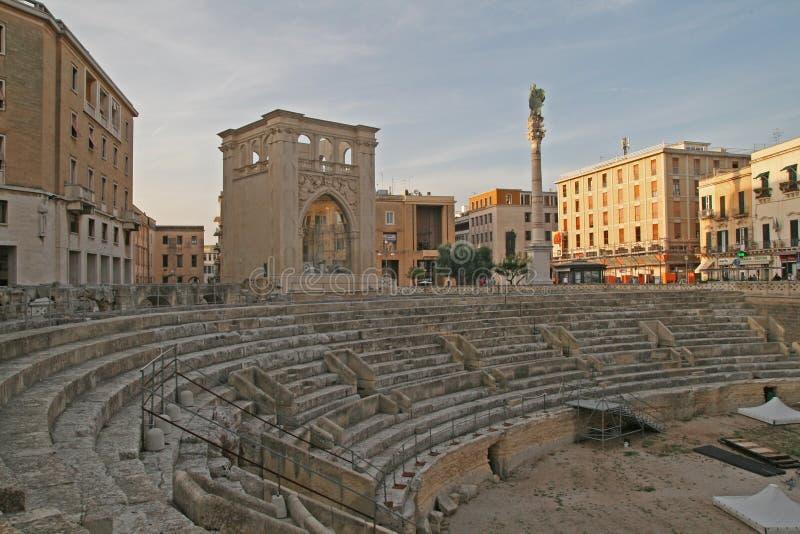Teatro di Lecce immagini stock