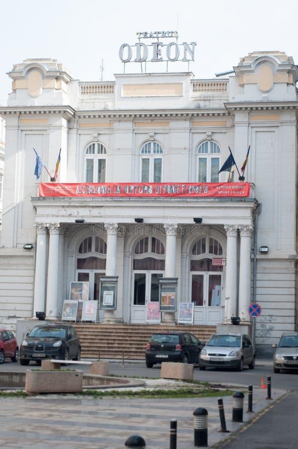 Teatro di Odeon immagini stock