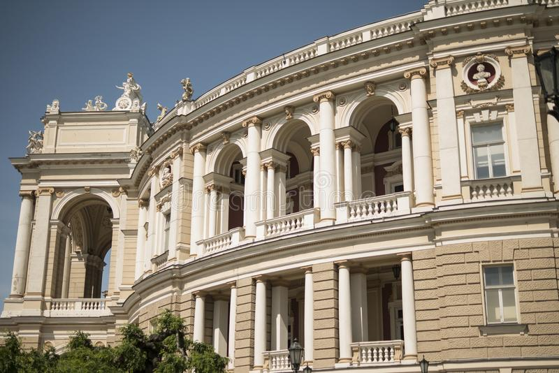 Teatro di opera Vecchia città Architettura fotografie stock libere da diritti