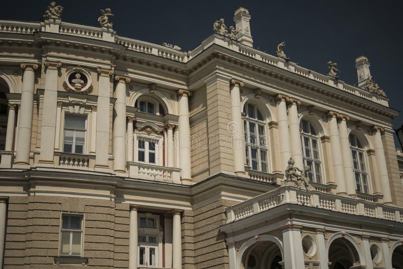 Teatro di opera Vecchia città Architettura fotografia stock