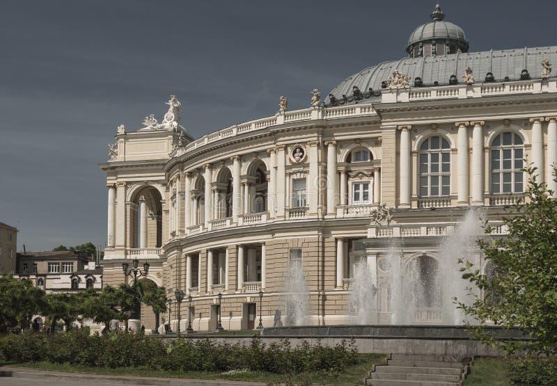 Teatro di opera Vecchia città Architettura immagini stock libere da diritti