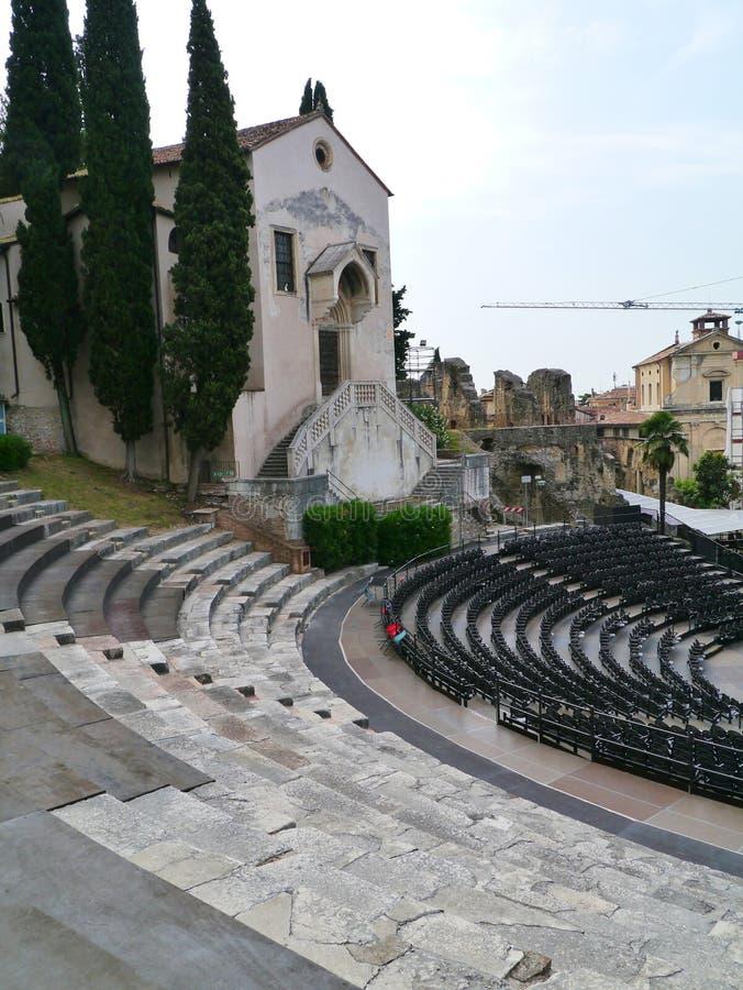 Teatro di Romano fotografia stock