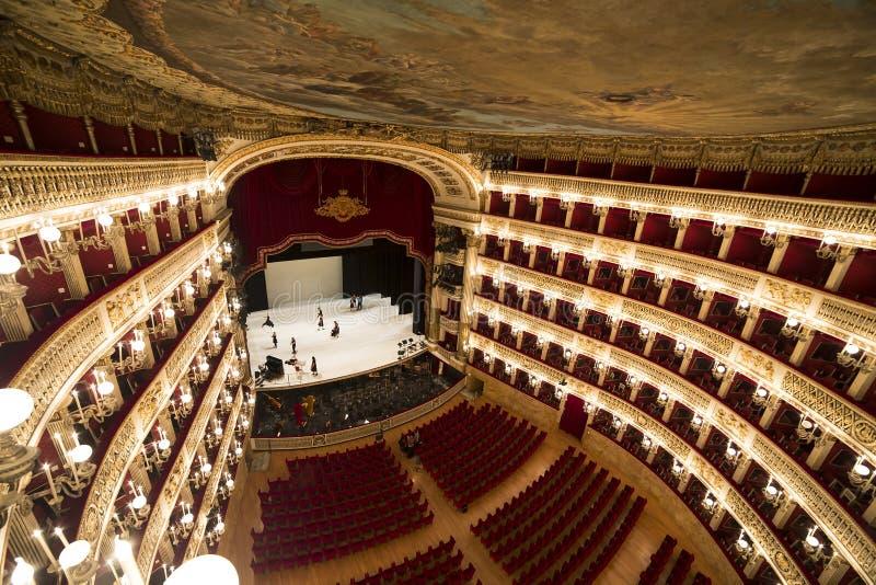 Teatro di san carlo naples opera house editorial for Italian house music