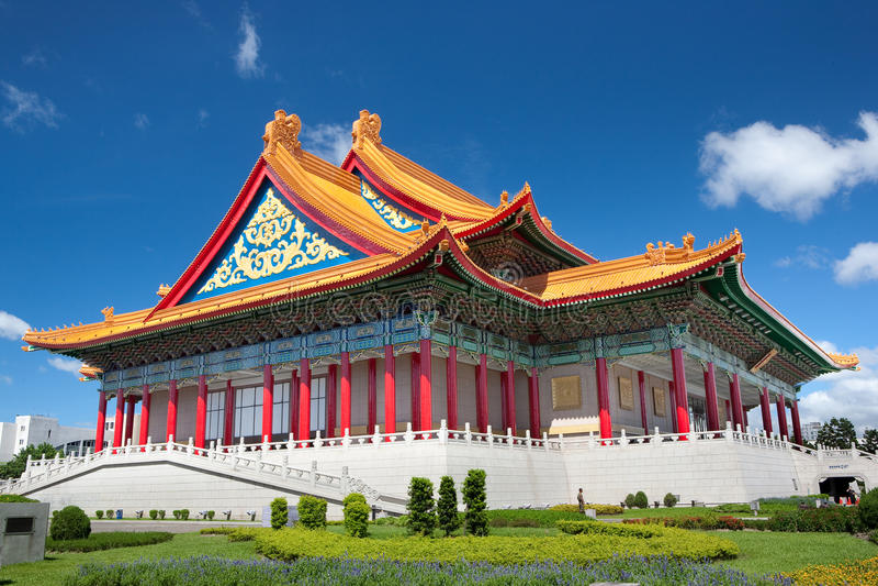 Teatro di varietà nazionale di Taiwan fotografia stock libera da diritti