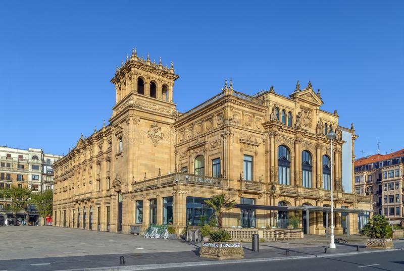 Teatro di Victoria Eugenia, San Sebastian, Spagna fotografia stock