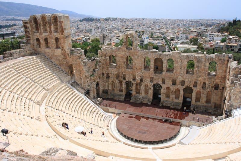 Teatro do Atticus de Herod imagem de stock royalty free