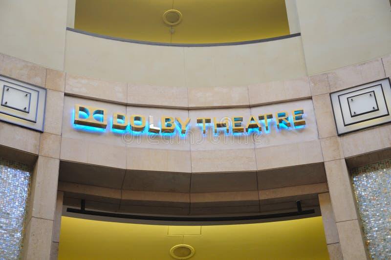 Teatro do Dolby fotos de stock royalty free