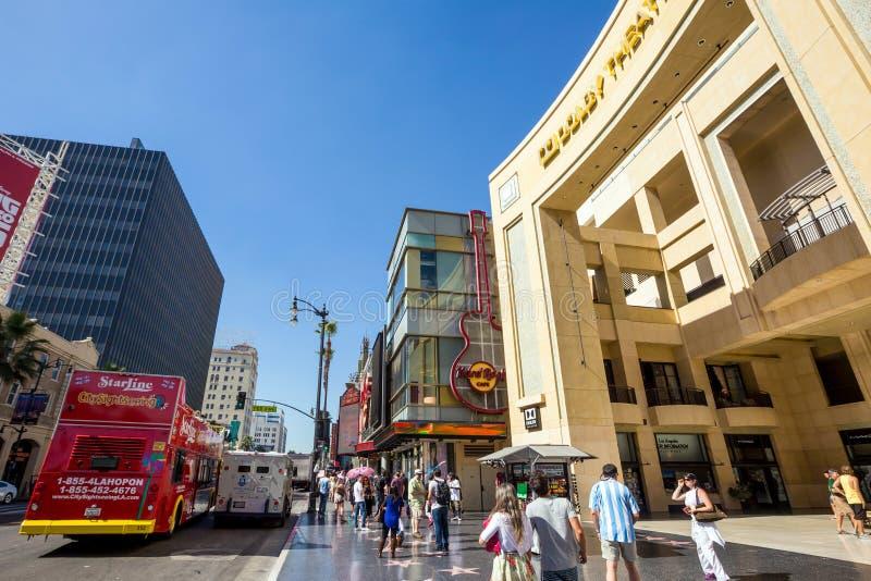 Teatro do Dolby (teatro de Kodak) fotos de stock