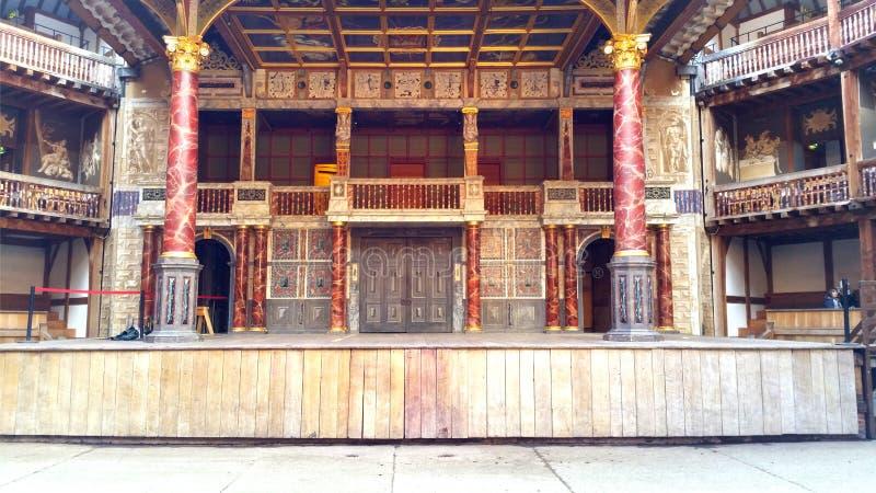 Teatro do globo fotos de stock royalty free