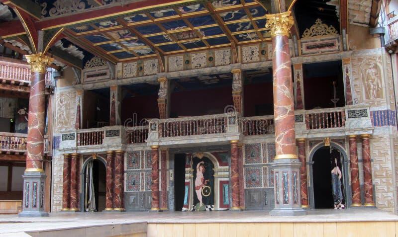 Teatro do globo de Shakespeare fotografia de stock royalty free