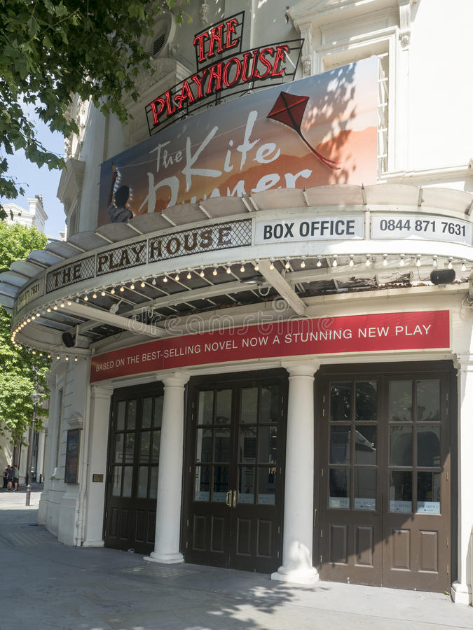 Teatro do teatro, Londres imagem de stock royalty free