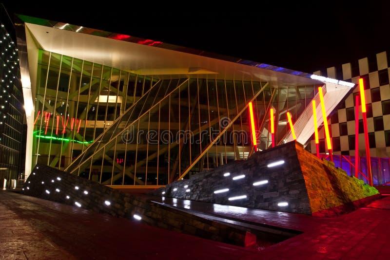 Teatro Dublino del grande canale fotografia stock libera da diritti