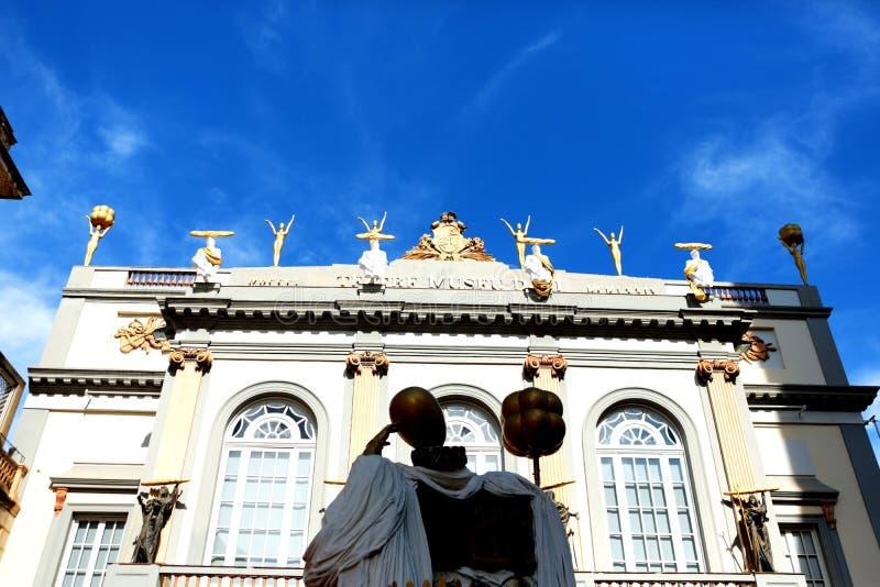 Teatro e museo di Dalà immagine stock libera da diritti