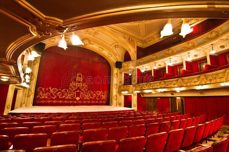 Teatro elegante imagen de archivo libre de regalías