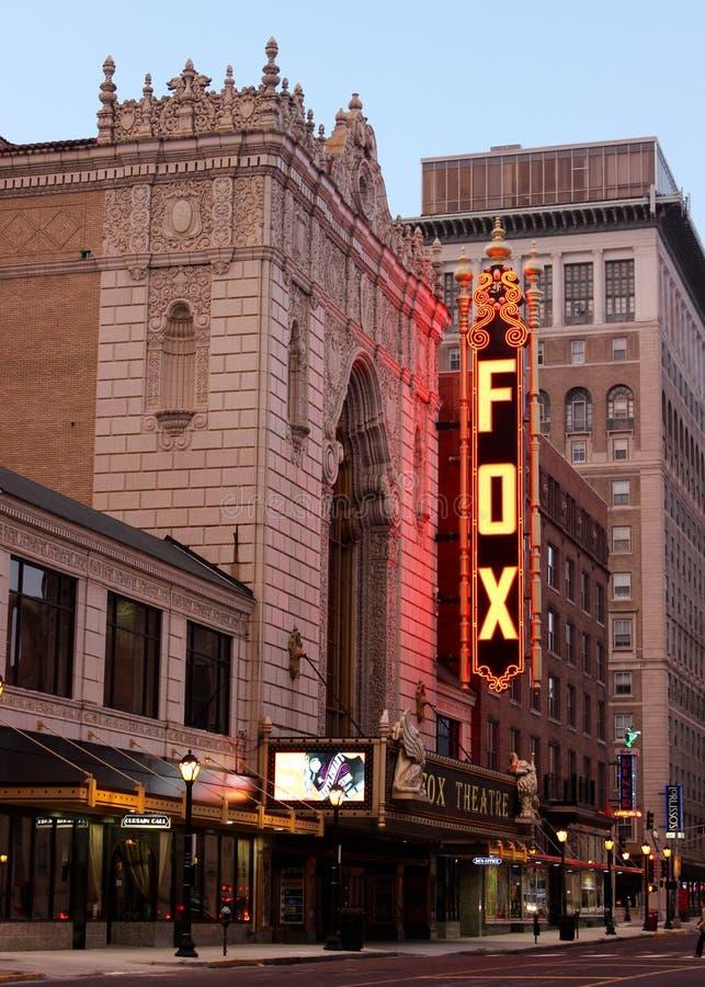 Teatro fabuloso del Fox fotografía de archivo libre de regalías