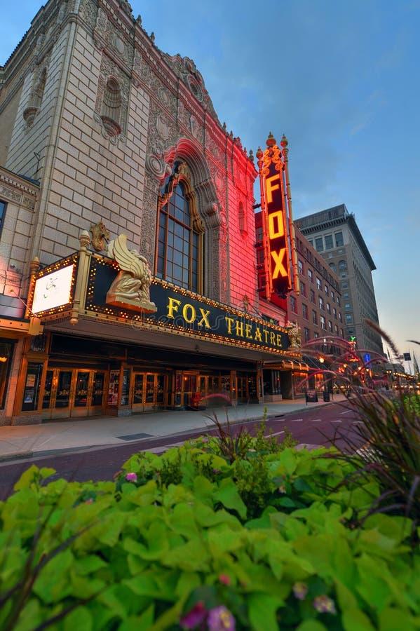 Teatro fabuloso del Fox en St. Louis fotos de archivo libres de regalías