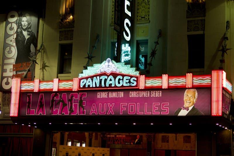 Teatro famoso de Pantages