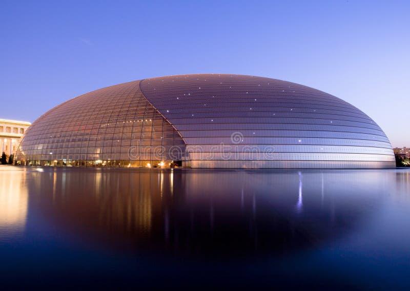 Teatro grande nacional de China imagens de stock royalty free