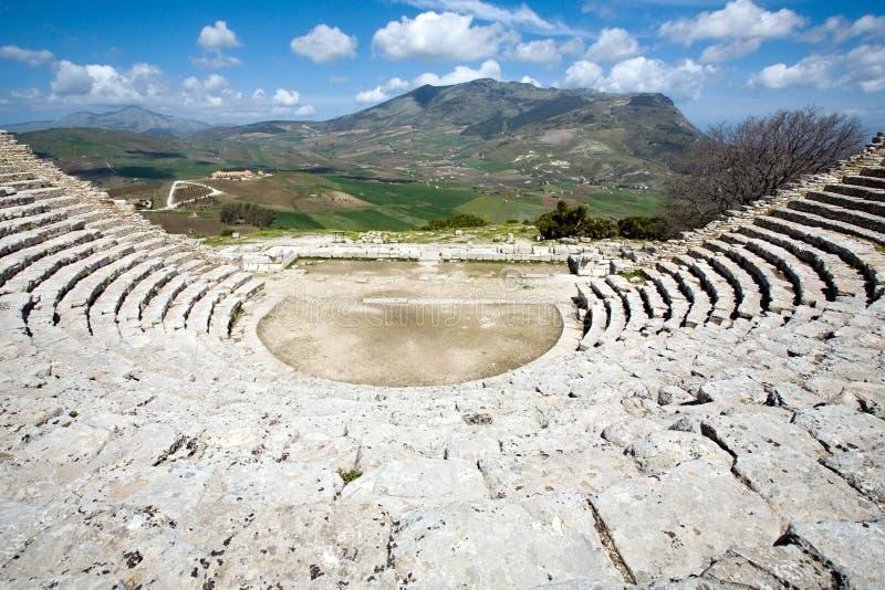 Teatro grego imagens de stock