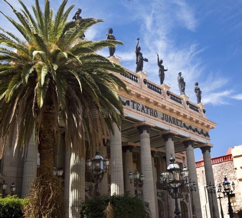 Teatro Guanajuato México de Juarez imagens de stock royalty free