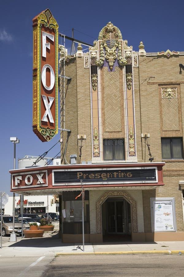 Teatro histórico do Fox imagem de stock