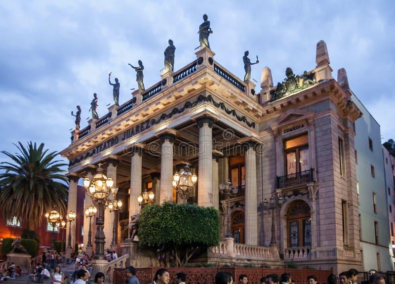 Teatro Juarez Guanajuato royalty free stock photography
