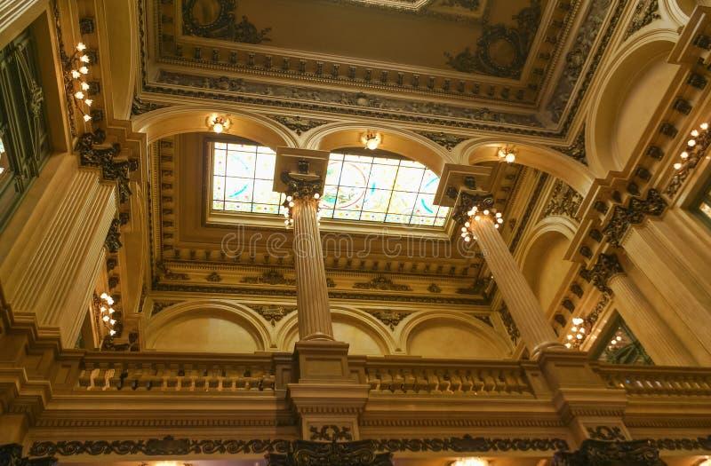 Teatro kolon royaltyfri fotografi
