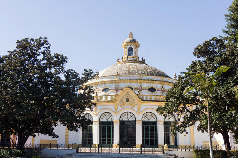 Teatro Lope de Vega royaltyfria bilder