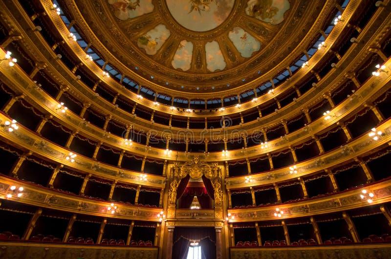Teatro Máximo, Palermo, Italia fotos de archivo libres de regalías