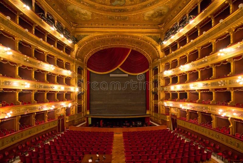 Teatro Máximo, Palermo, Italia imágenes de archivo libres de regalías