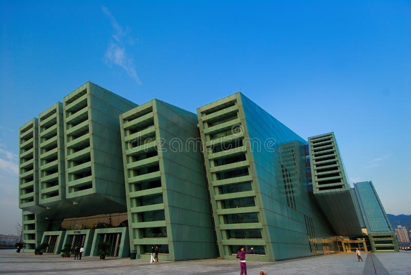 Teatro magnífico de Chongqing imagen de archivo libre de regalías