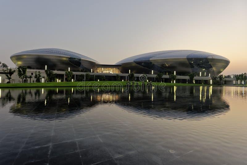 Teatro magnífico de Jiangsu imagen de archivo libre de regalías