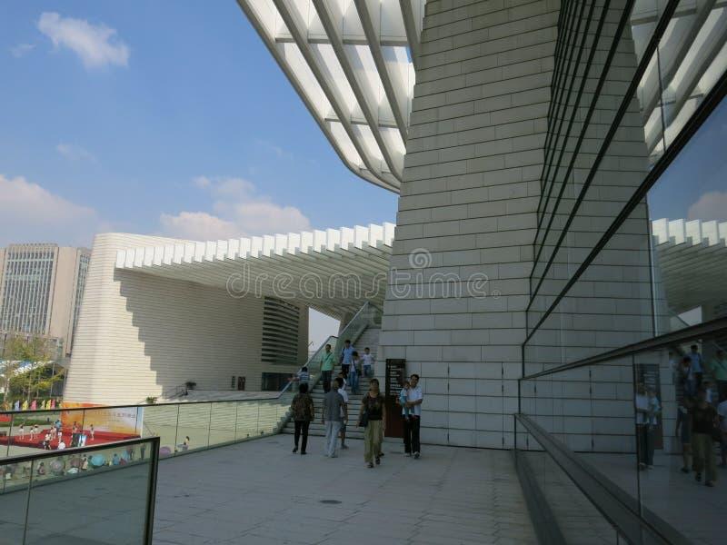 Teatro magnífico de Qingdao foto de archivo libre de regalías