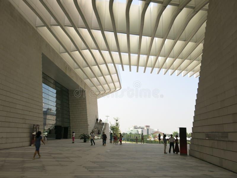 Teatro magnífico de Qingdao fotos de archivo libres de regalías