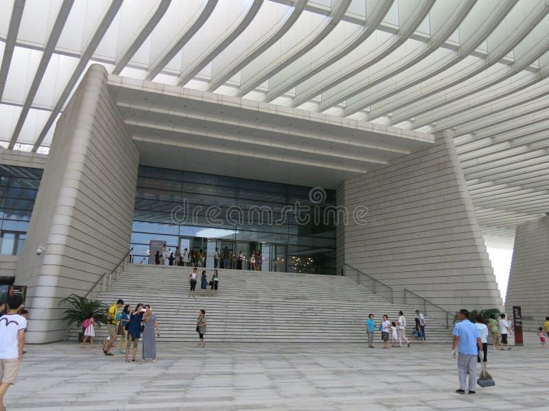 Teatro magnífico de Qingdao imágenes de archivo libres de regalías