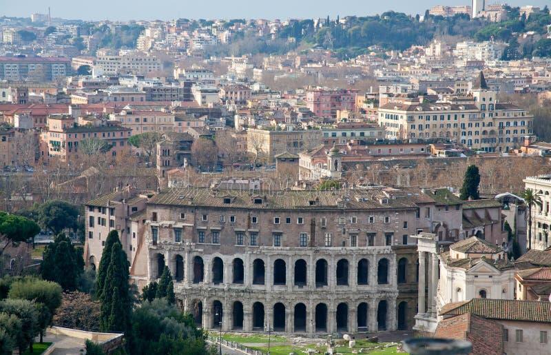 Teatro Marcellus immagine stock