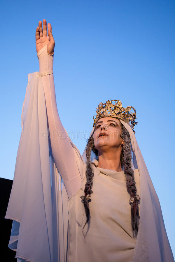 Teatro - Marie de Romênia imagem de stock royalty free