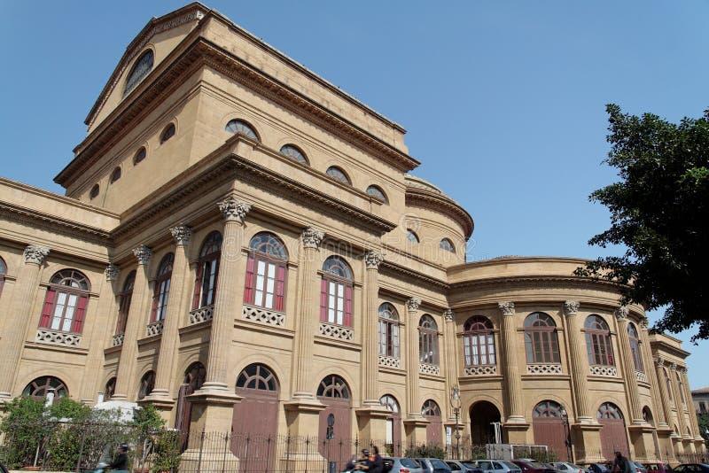 Teatro Massimo Palermo fotografia stock