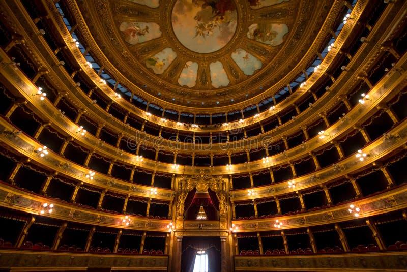 Teatro Massimo, Palermo, Italia fotografia stock libera da diritti