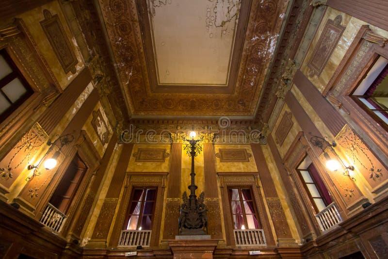 Teatro Massimo, Palermo, Italia immagini stock