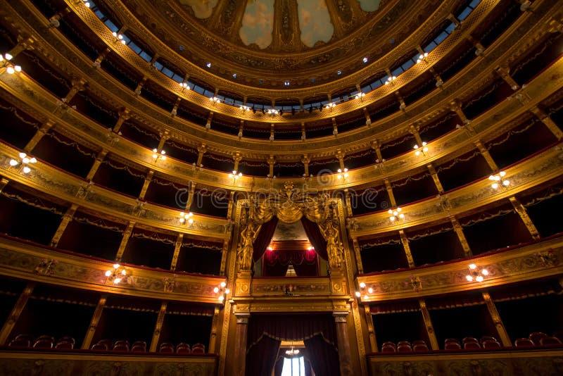 Teatro Massimo, Palermo, Italien fotografering för bildbyråer