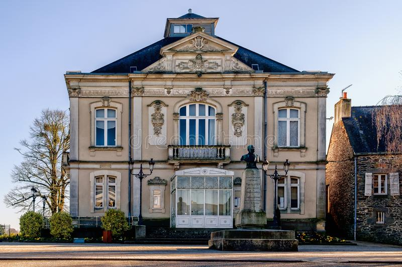 Teatro Mayenne-municipal foto de stock royalty free