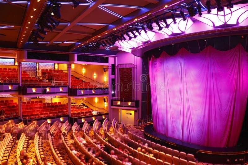 Teatro moderno fotografie stock libere da diritti