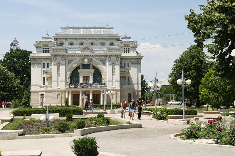 Teatro municipal imagens de stock