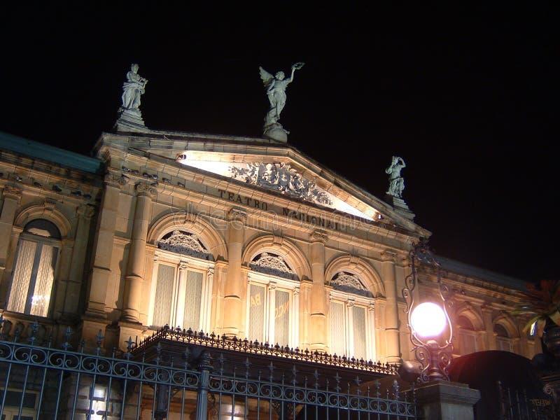 Teatro nacional fotografía de archivo